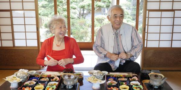 音羽鮨さんに料理を宅配してもらいました